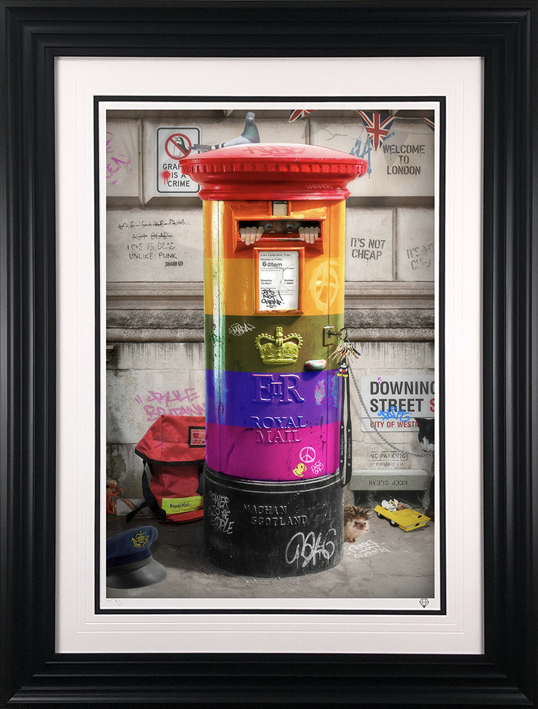 Postman Patrick Exclusive RAINBOW Edition by JJ Adams