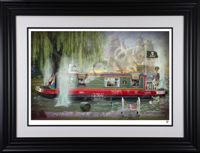 Wind In The Willows framed by JJ Adams
