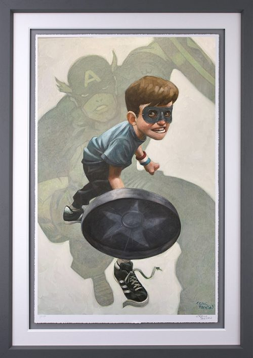 American Dream (Paper) by Craig Davison