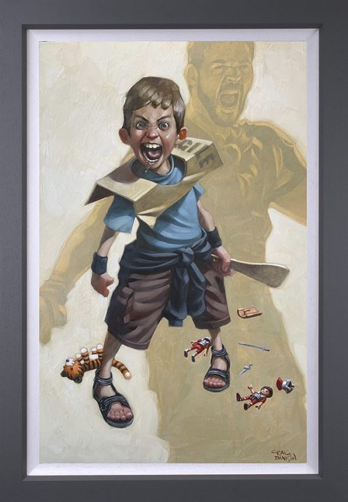 Are You Not Entertained (Canvas) by Craig Davison