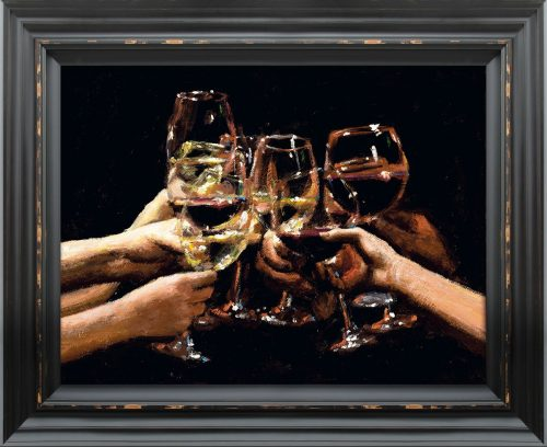 For a Better Life IX framed by Fabian Perez