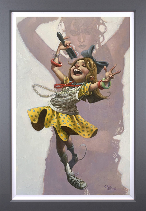 Get Into The Groove (canvas) by Craig Davison