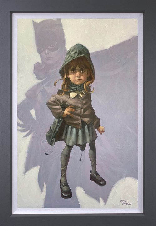 Gotham Girl (Canvas) by Craig Davison