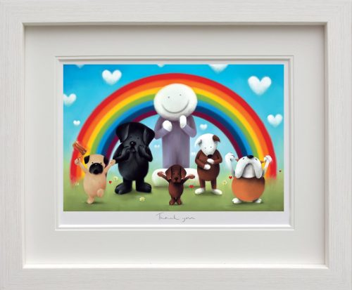 Thank You (framed) by Doug Hyde