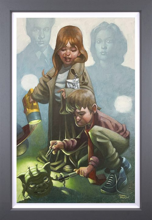 X-Factor (Canvas) by Craig Davison