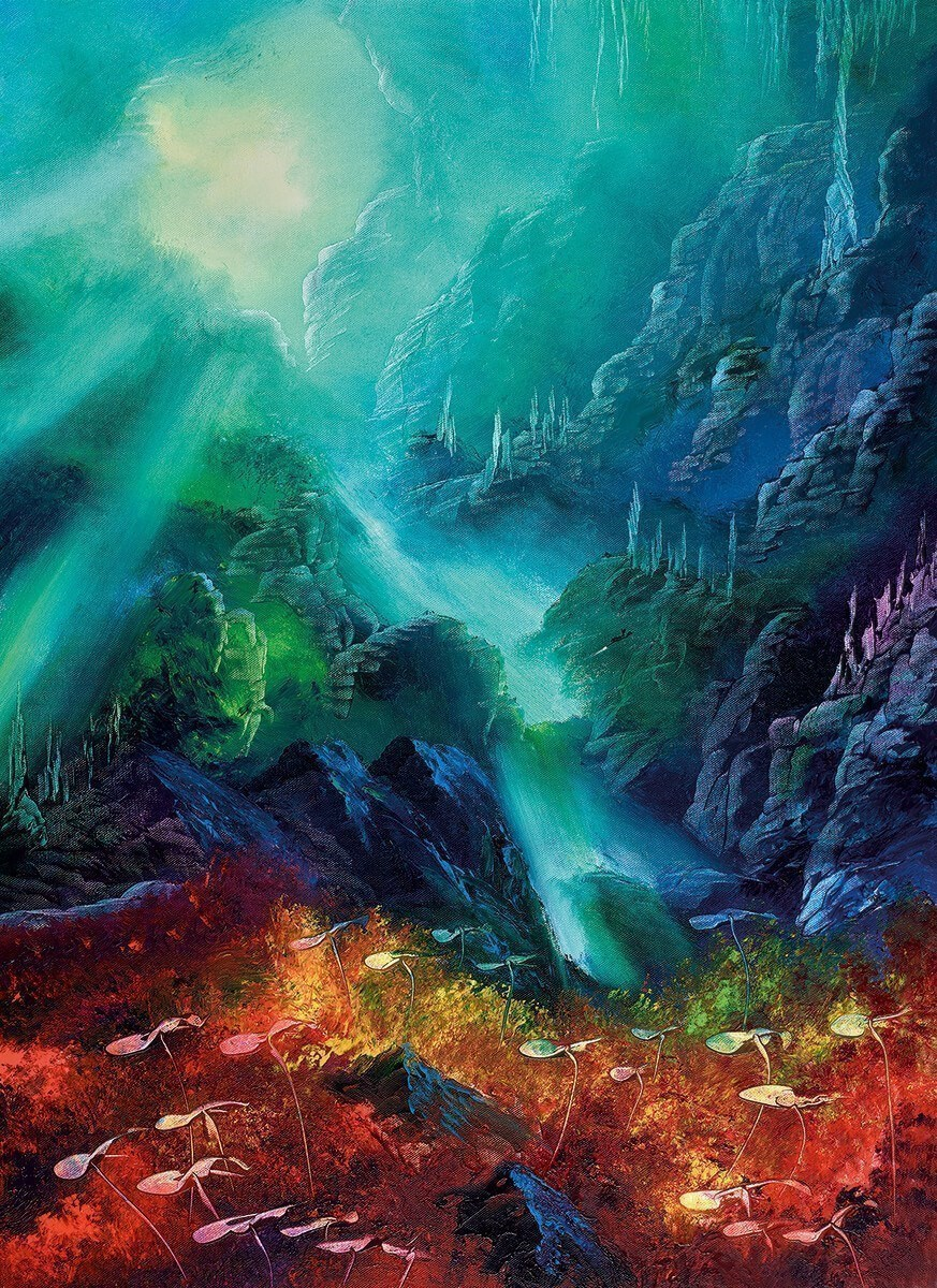 Colours of the Deep by Philip Gray