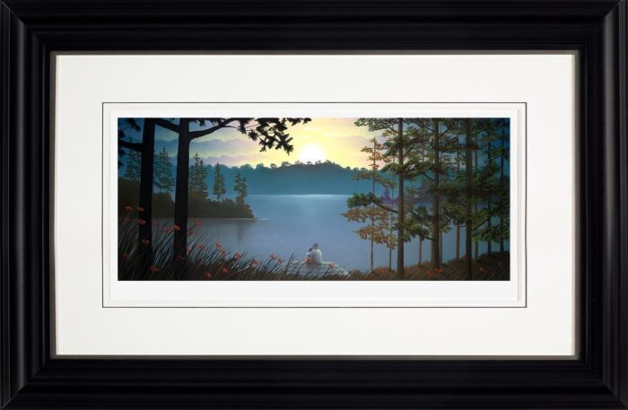 Just the Two of Us framed by Mackenzie Thorpe
