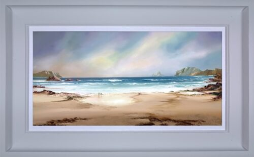 Peaceful Shores framed by Philip Gray