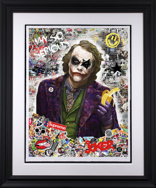 Why So Serious (paper) by Zee