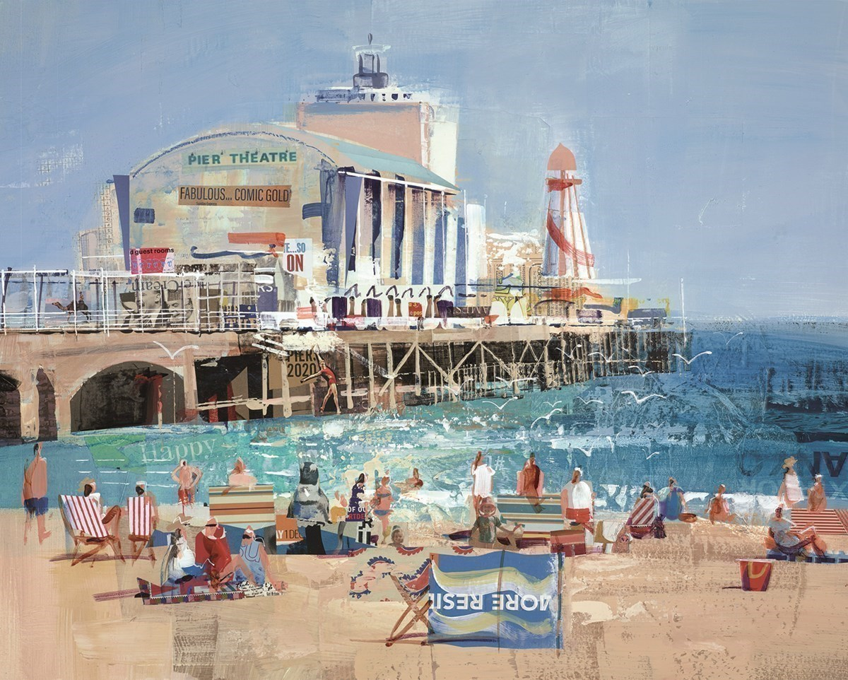 Bourne For The Beach by Tom Butler