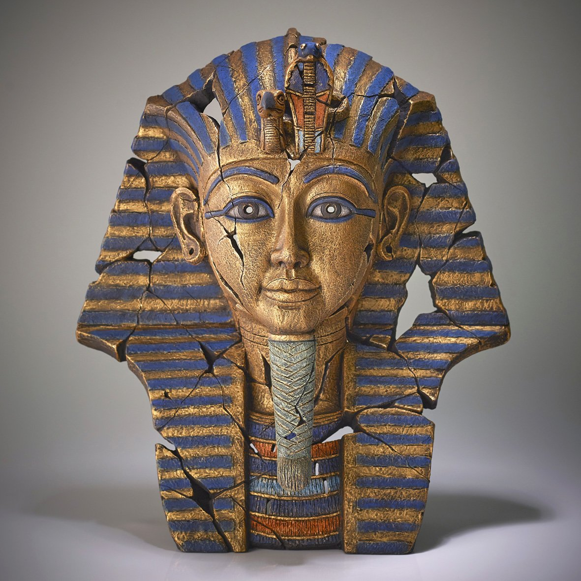 Tutankhamun Bust by Matt Buckley of Edge Sculptures