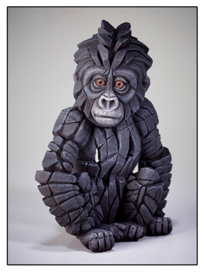 Baby Gorilla by Matt Buckley Edge Sculpture