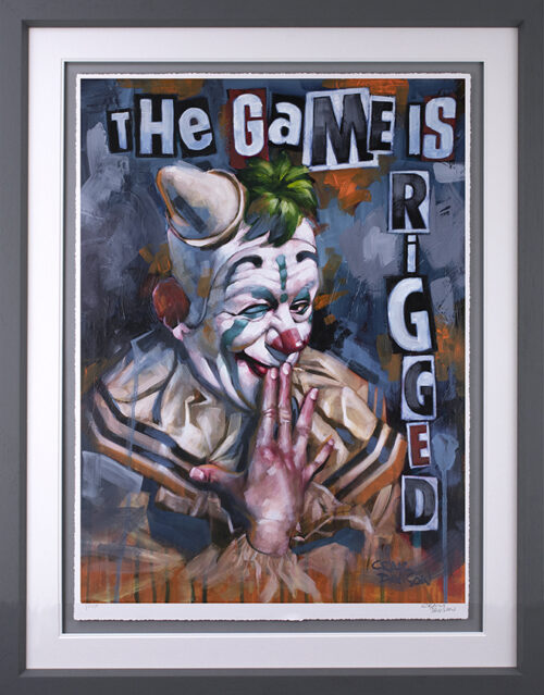 The Game is Rigged (Paper) by Craig Davison