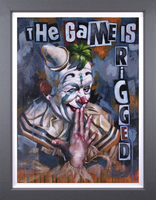 The Game is Rigged (Canvas) by Craig Davison