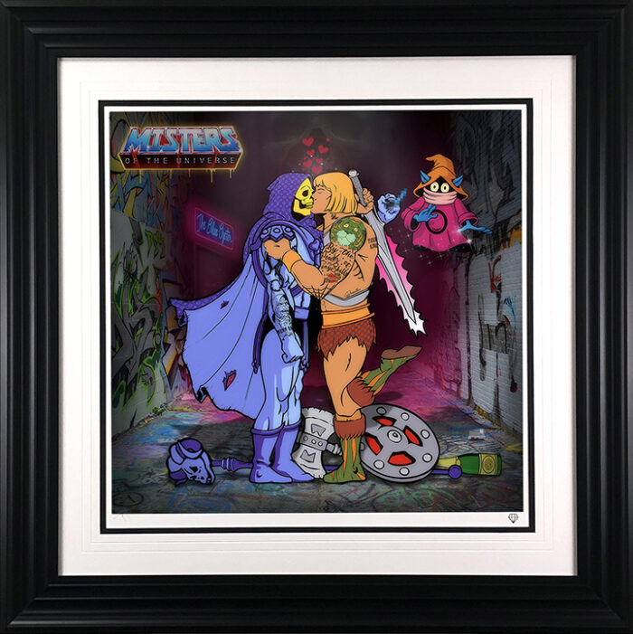 Misters of the Universe framed