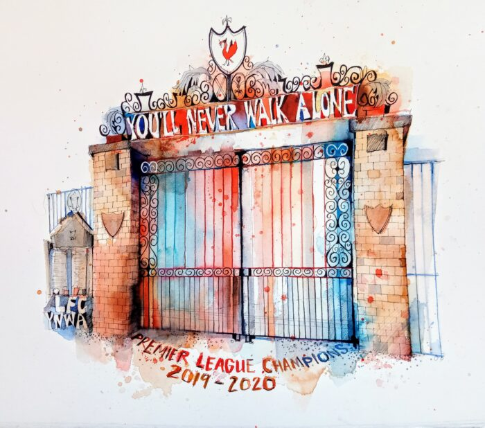 Shankly Gates 2020 by Ian Fennelly