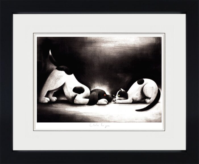 Close to You (framed) by Doug Hyde