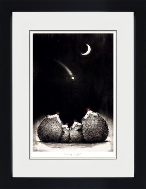 Family Night (framed) by Doug Hyde