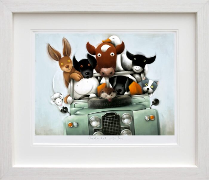 Overloaded with Love (framed) by Doug Hyde