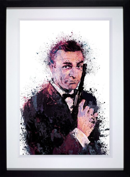 007 With Love framed by Daniel Mernagh