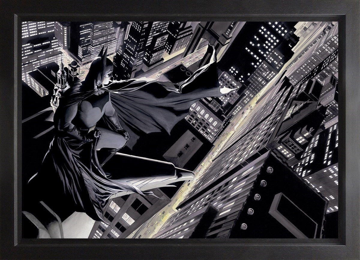 Batman: Knight Over Gotham (Box Canvas) by Alex Ross