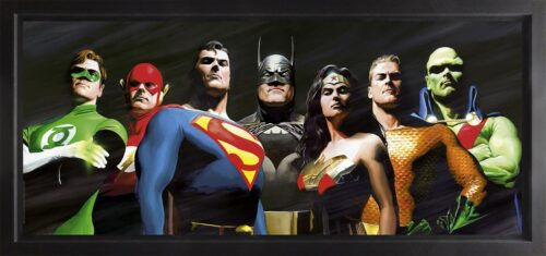 Original Seven (Box Canvas) by Alex Ross