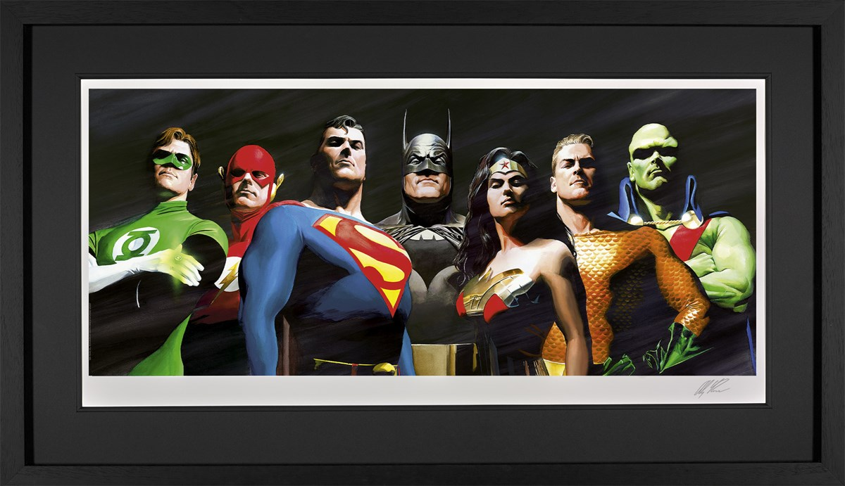 Original Seven (Paper) by Alex Ross
