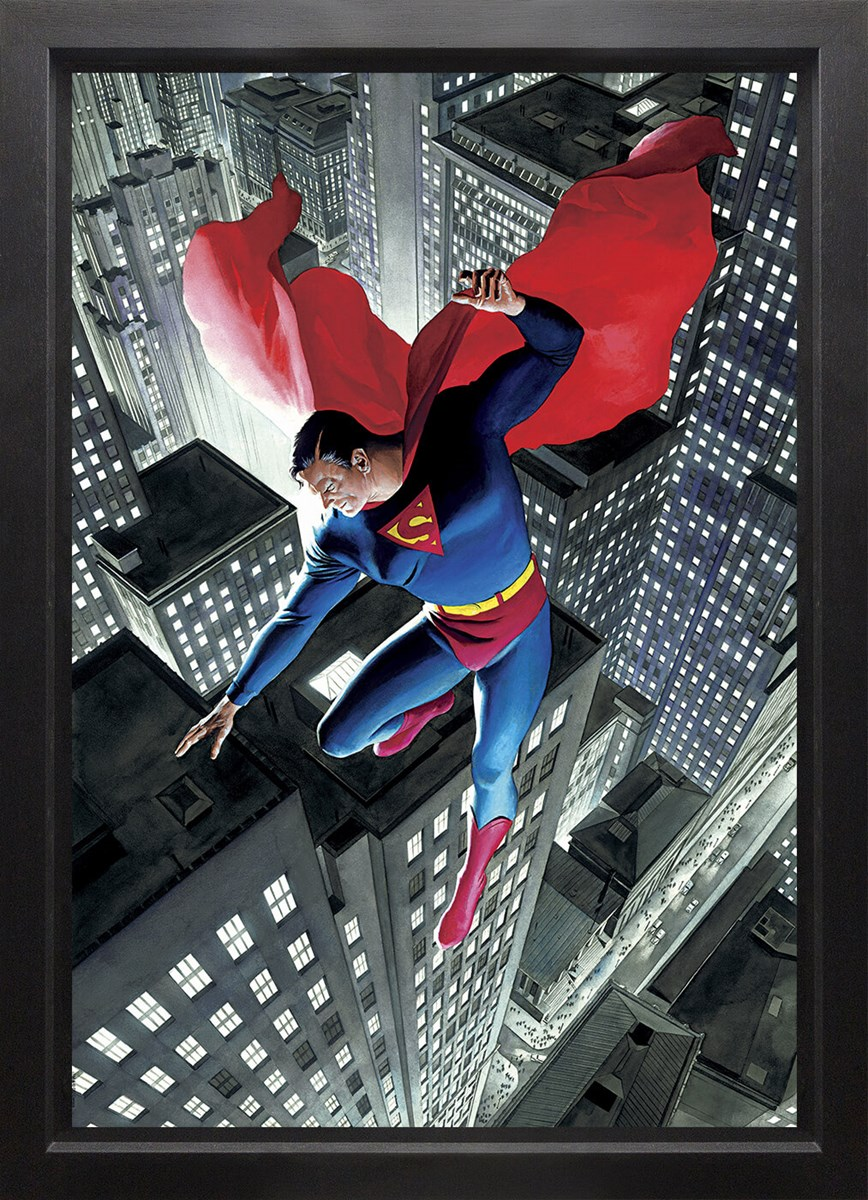 Superman Twentieth Century (Box Canvas) by Alex Ross