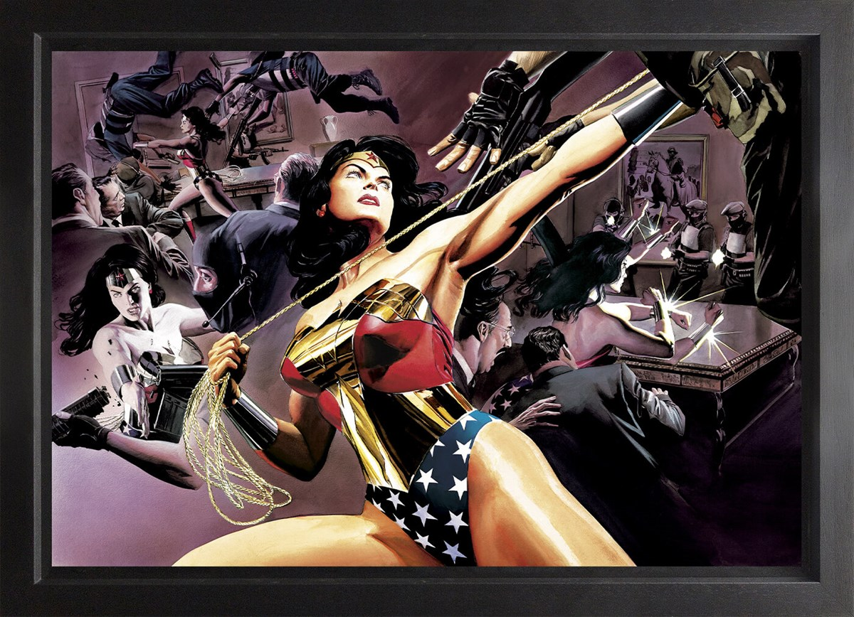 Wonder Woman: Defender Of Truth (Box Canvas) by Alex Ross