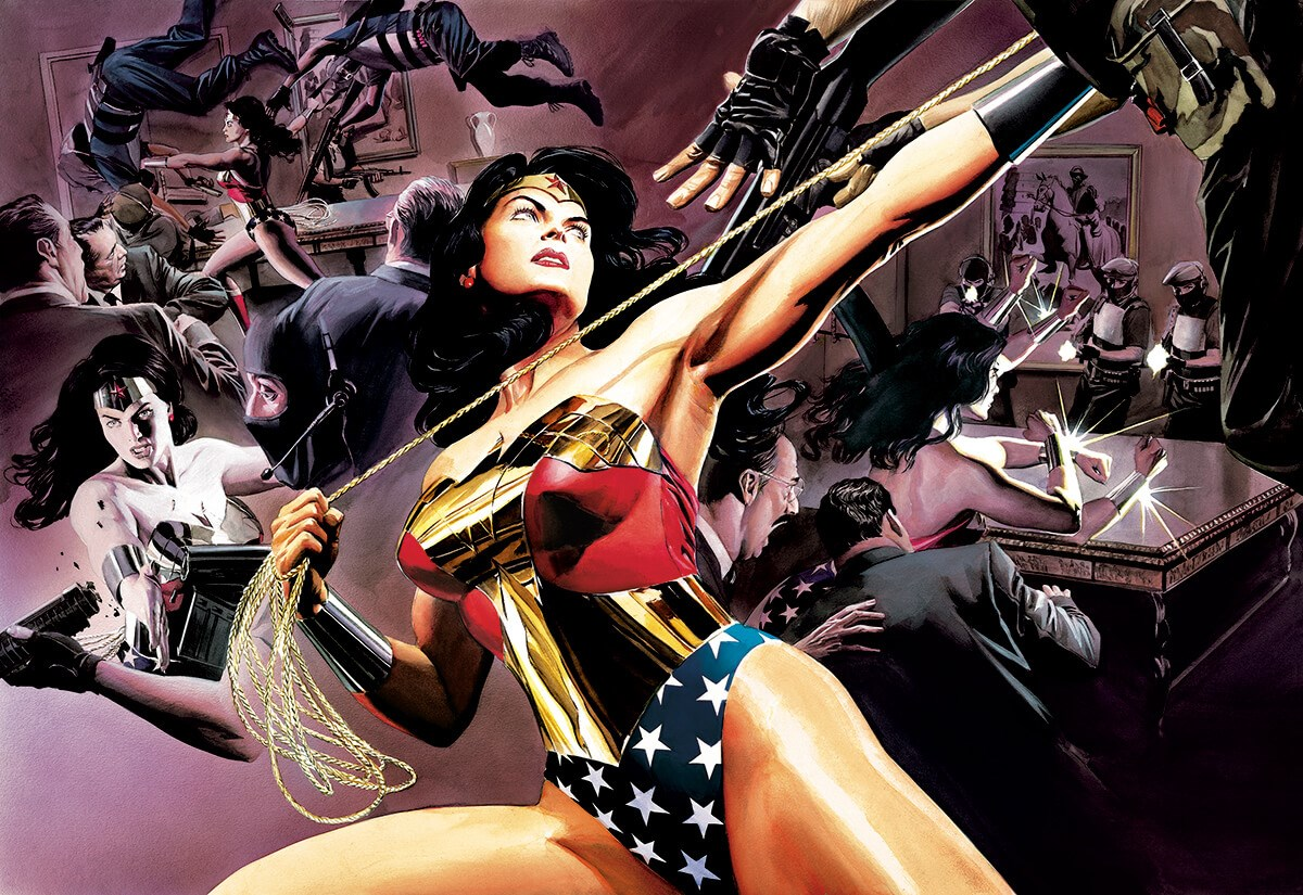Wonder Woman Defender Of Truth