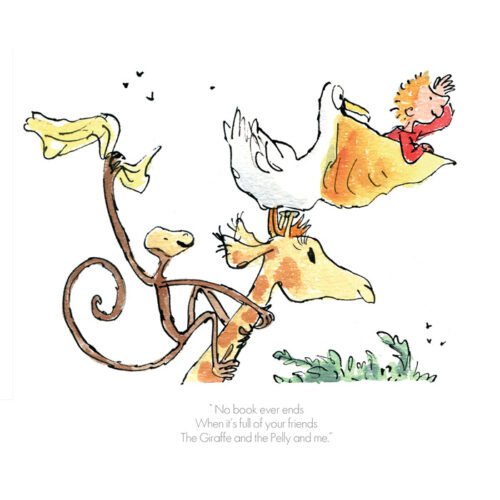 """""""No Book Ever Ends"""" by Quentin Blake"""