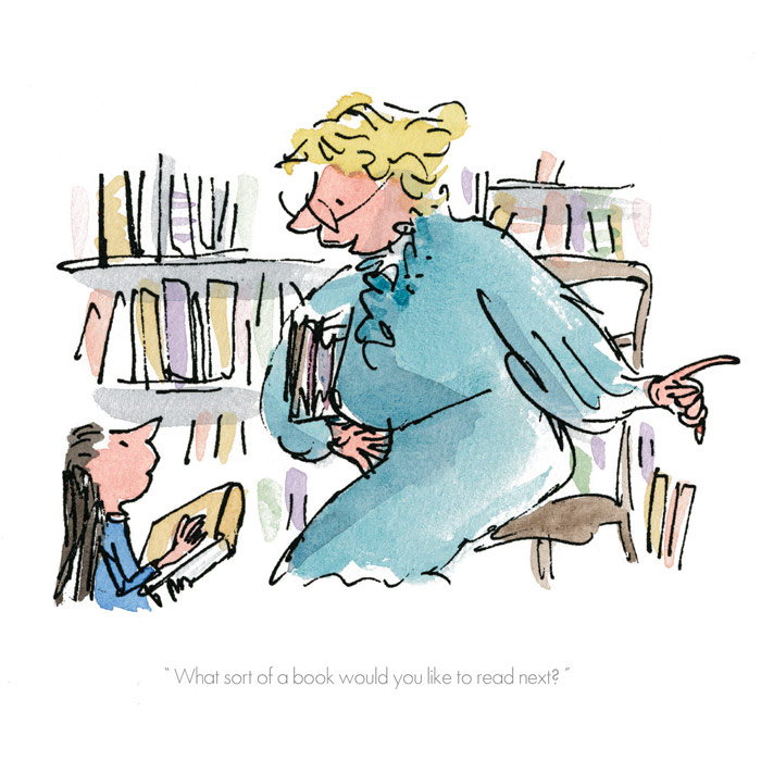 """""""What Sort Of Book Would You Like To Read?"""" by Quentin Blake"""