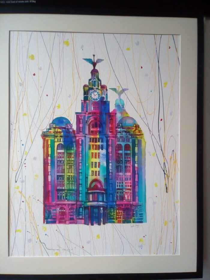 Original Liverbuilding Series by Linda Poggio