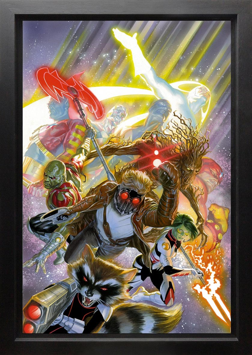 Guardians of the Galaxy (Canvas) by Alex Ross