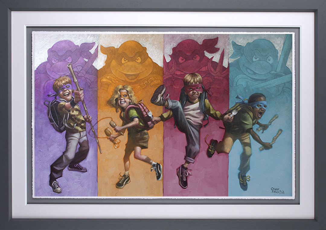 Heroes In a Half Shell (Paper) by Craig Davison