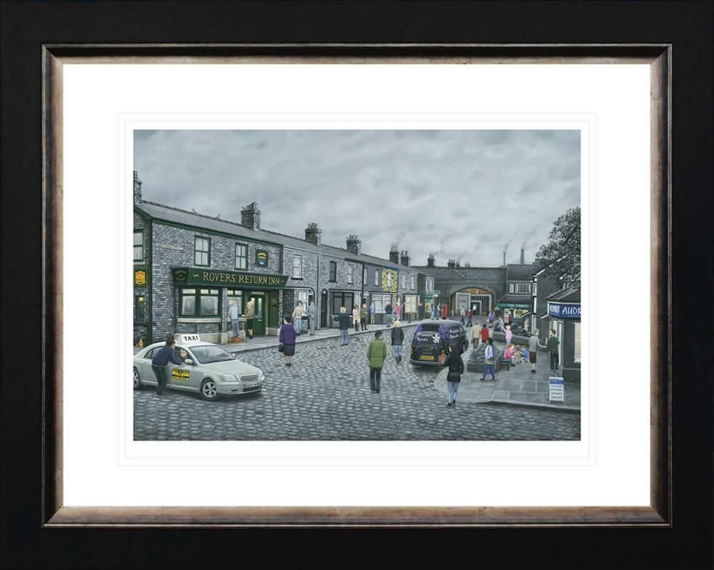 On The Cobbles (Paper) by Leigh Lambert