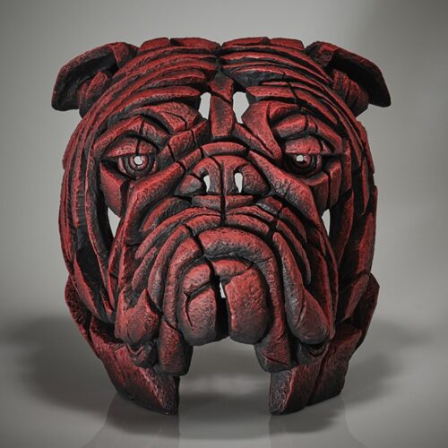 Bulldog Bust (Tommy K) Limited Edition by Matt Buckley of Edge Sculptures