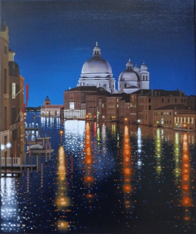 Reflections On The Grand Canal by Neil Dawson